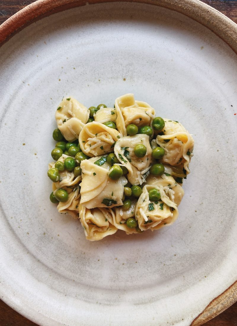 Tortellini and Green Pea Salad